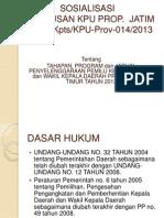 TAHAPAN PILGUB 2013.PPT