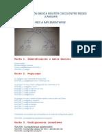 Configuración básica router cisco 1841
