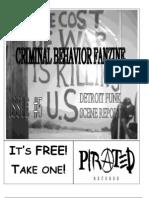 Criminal Behavior Fanzine, Issue 5