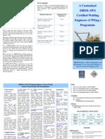 SIRIM-AWS Certified Welding Engineer (CWEng.) Brochure 2013