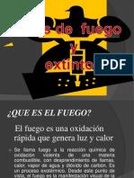 6 Tipos de Fuego y Extintores