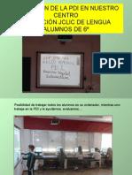 APLICACIÓN DE LA PDI EN NUESTRO CENTRO