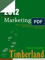 TImberland Marketing Plan