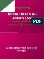 Imam Hasan Askari - Words of Wisdom