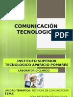 COMUNICACIÓN TECNOLOGICA