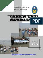 Plan de Toe2012