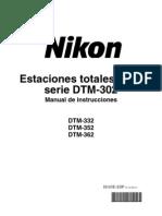 Nikon DTM-302 Instruction Manual-Spanish
