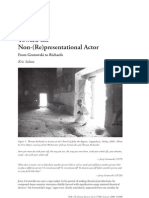 Toward the Non-(Re)Presentational Actor