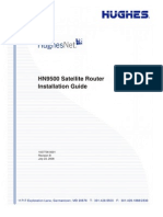 HughesNet HN9500 Satellite Router Installation Guide