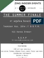 Azalea Boutique Collaboration Event