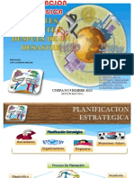 APLICACIÓN DE LA PLANIFICACION ESTRATEGICA