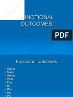 Functional Outcomes in cp