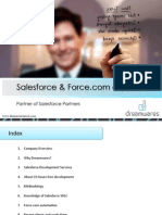 Dreamwares Salesforce/Force.com expertise
