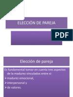 Elección de Pareja.