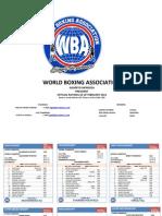 Wba Rating February 2013 1