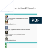 How to get an Aadhar.docx