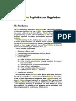 Air Pollution Legislation Control