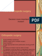 Role of Orthopedic Surgery in cp