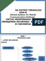 Penerapan Sistem Teknologi Gsm-r