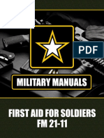 US Army First Aid for Soldiers FM 21-11