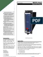Datasheet MSXR v F