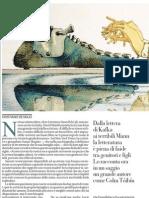 Se la letteratura è una rovinafamiglie, di CRISTIANO DE MAJO - La Repubblica 18.04.2013