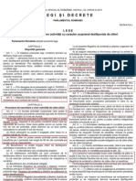 L 50 Din 2011 - Legea Zilierilor