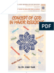 Concept of God in the Major Religions