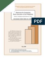 Statistics in Education