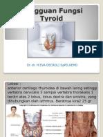 Kuliah Gangguan Fungsi Hormon Tiroid Blok