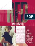 111609482 Taylor Swift Red Digital Booklet