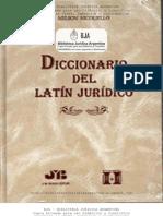 Nicoltello Nelson - Diccionario del Latin Juridico.pdf
