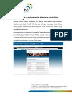 Panduan Formulir Online Beasiswa Sobat Bumi Pertamina Foundation