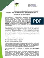 Executive Development Program- Goa