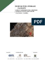 Bulk Fuel Storage Facility (Environmental Impact Assessment)