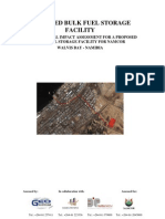 Bulk Fuel Storage Facility (Environmental Impact Assessment)