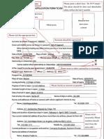 SAMPLE Application Form