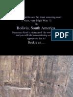 Bolivian Highway 1