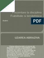 Prezentare La Disciplina Fiabilitate si terotehnica