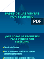 Bases de Las Ventas Por Telfono4042