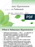Pulmonary Hypertension and Cor Pulmonale