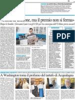 """A Palazzo Albani si parla del pensiero filosofico moderno / Flessibilità non va """"Fuorikorso"""" - Il Resto del Carlino del 17 aprile 2013"""