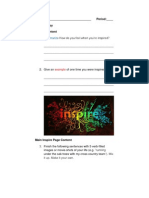 inspire copy