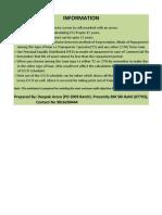 DSCR Calculation Sheet (Excel 2003 Ver)