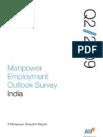 Manpower Employment Outlook Survey Q2 2009