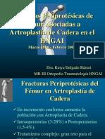 Fracturas Periprotesicas Congreso SPOT