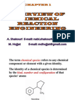 Overview of Chemical Reaction Engineering