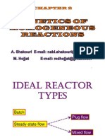 Kinetics of Homogeneous reaction