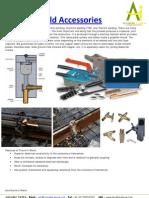 Thermit weld accessories