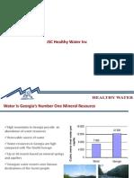 JSC Healthy Water Inc